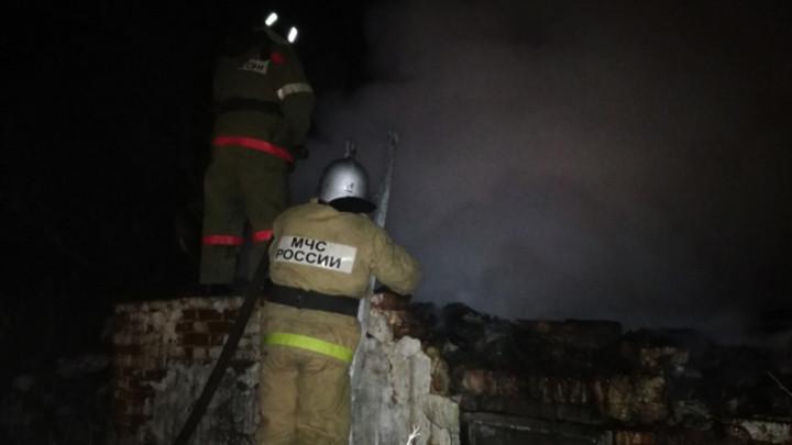 В селе Волчья Дубрава сгорел мужчина
