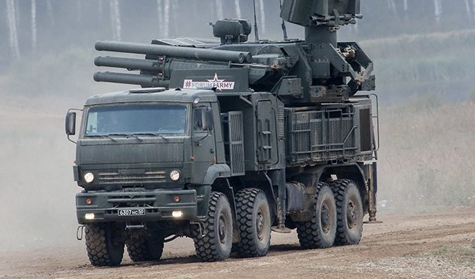 Крым усилили «Панцирями»