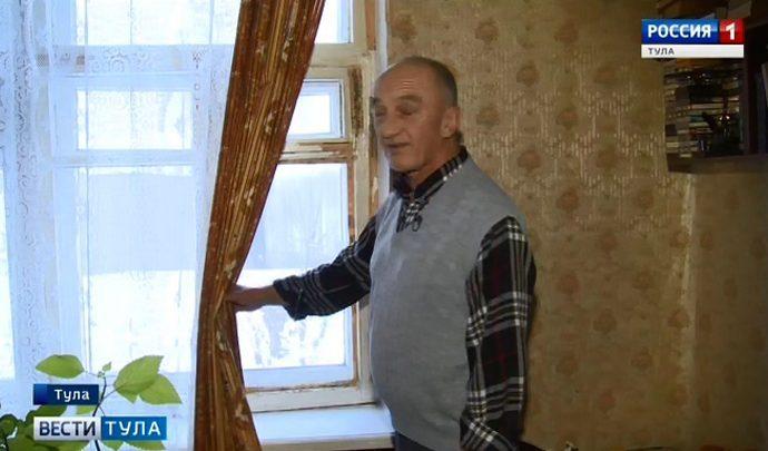 Борьба коммунальщиков с сосульками обернулась для туляка разбитым окном