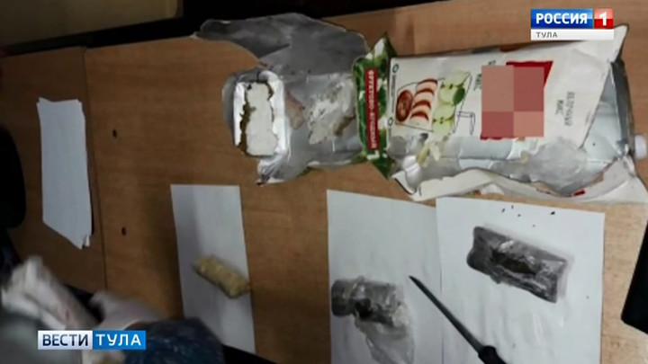 Туляк пытался переправить в колонию марихуану в пакетах из-под сока