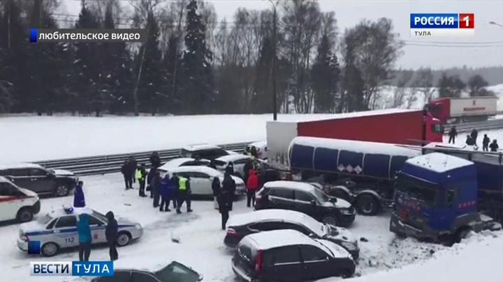 Снегопад помешал тульским спортсменам попасть на соревнования