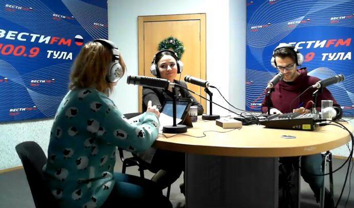 Вести FM Тула. «Формат 71» с Екатериной Федосовой и Алексеем Соколовым. 24.01.2019