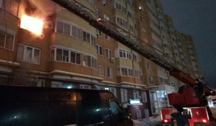 В выходные в Тульской области резко возросло число пожаров