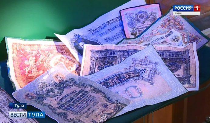 Квадратные монеты и редкие купюры. Корреспондента тульских «Вестей» пустили в хранилище редкостей Центробанка