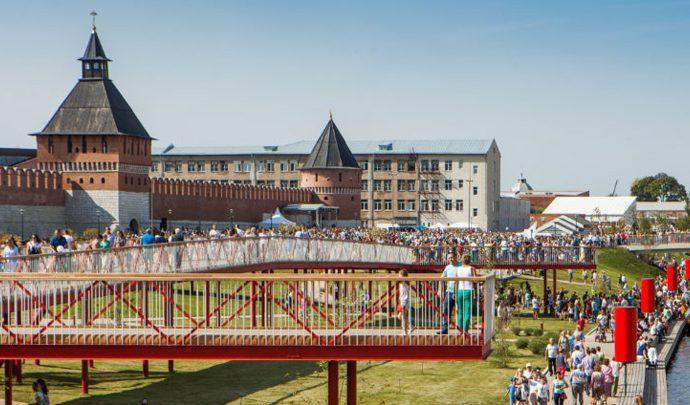На Казанской набережной появится розарий