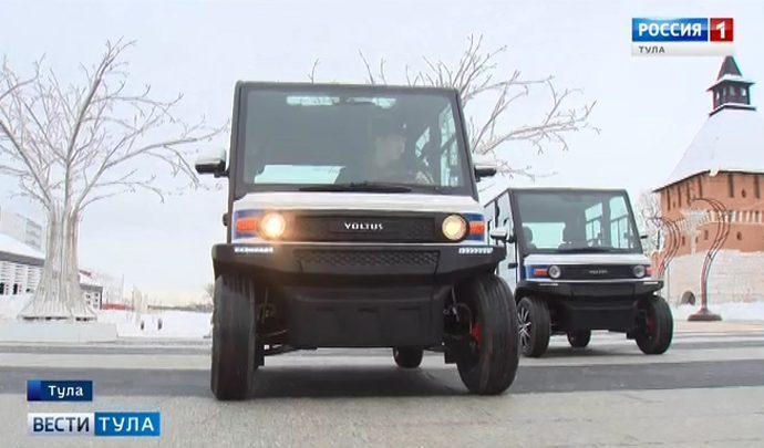 Тульские полицейские осваивают новый вид транспорта