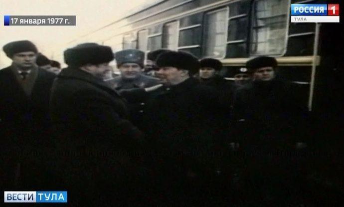 42 года назад Леонид Брежнев прикрепил «Золотую Звезду» к знамени Тулы