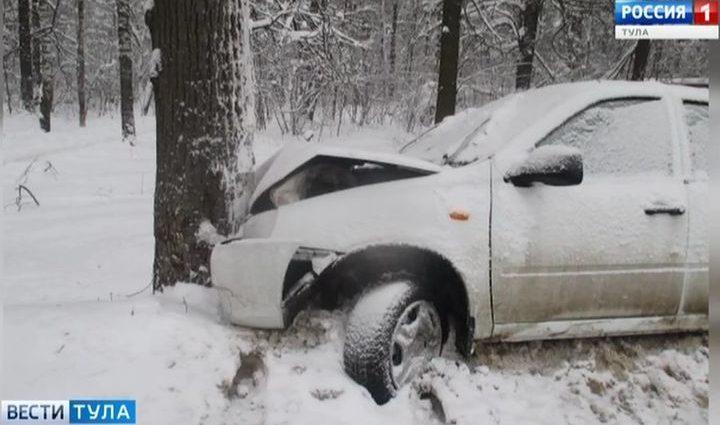 За сутки в ДТП в Тульской области пострадали трое детей
