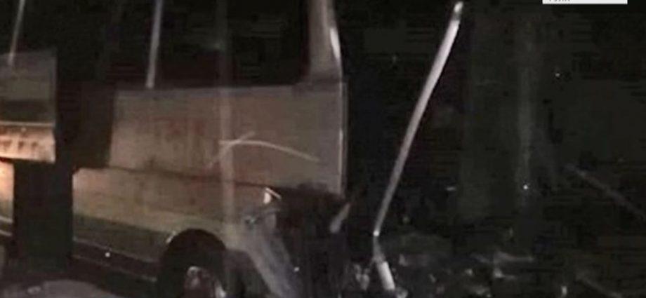 В Киреевском районе в ДТП попал автобус с пассажирами