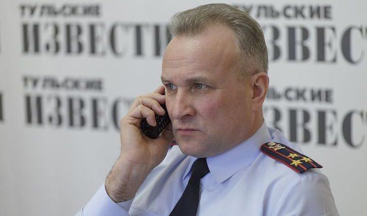 Главный тульский автоинспектор подал рапорт об отставке