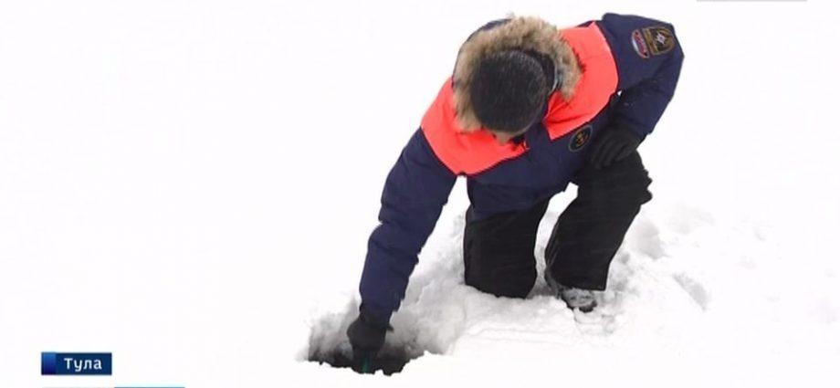 Можно ли выходить на лёд в районе Казанской набережной?