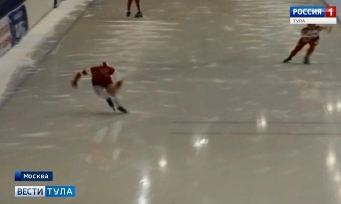 Тульские конькобежцы завоевали две «бронзы» в Крылатском