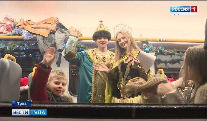 Более 400 юных туляков побывали на главной ёлке в Кремле