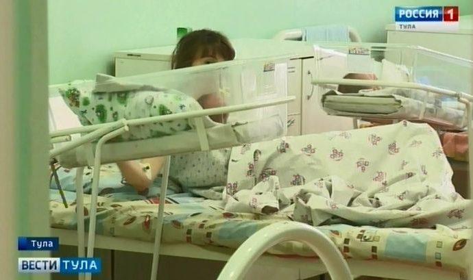 Главные подарки: в первый день года в Туле появились на свет 16 детей