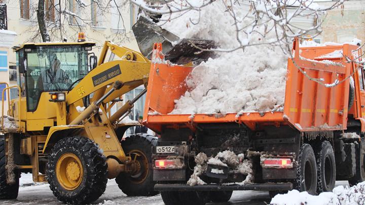 32 тысячи кубометров снега вывезли из Тулы за 10 дней