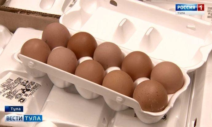 Где в Туле купить девяток яиц?