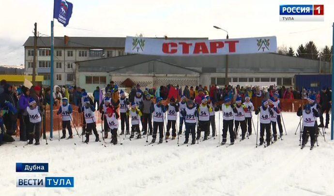 Более 400 человек вышли на «Лыжню Веденина»