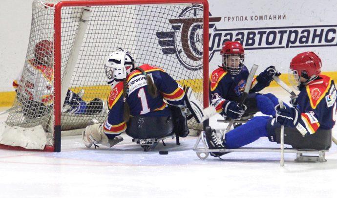 Тульские слэдж-хоккеисты участвуют в крупнейших Паралимпийских соревнованиях