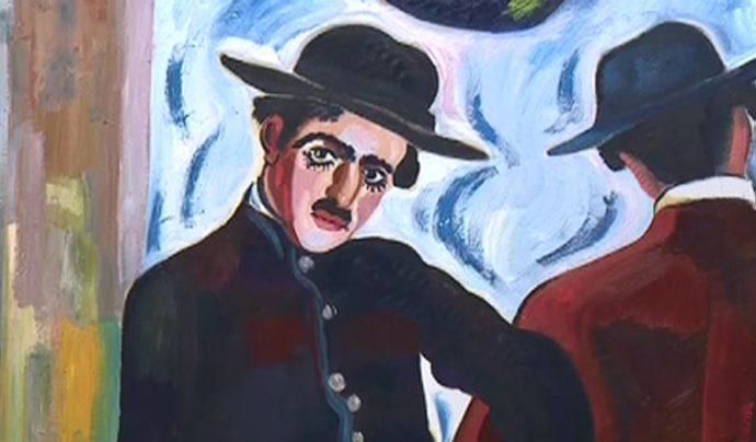 Церетели подарил тульскому музею Чарли Чаплина