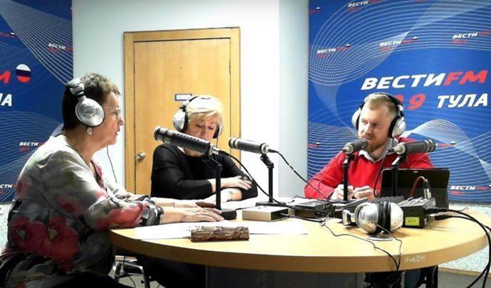 Вести FM Тула. «Формат 71» с Владимиром Комаровым. 13.02.2019