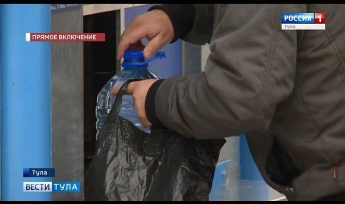 Аварии на водоводах становятся в Туле нехорошей традицией