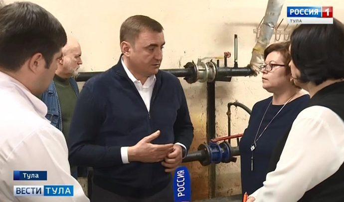 Алексей Дюмин посетил областной перинатальный центр