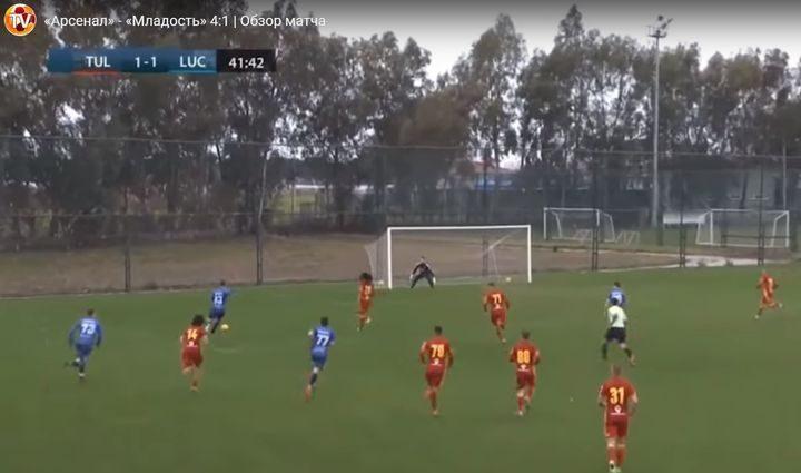 Тульский «Арсенал» уверенно обыграл сербов