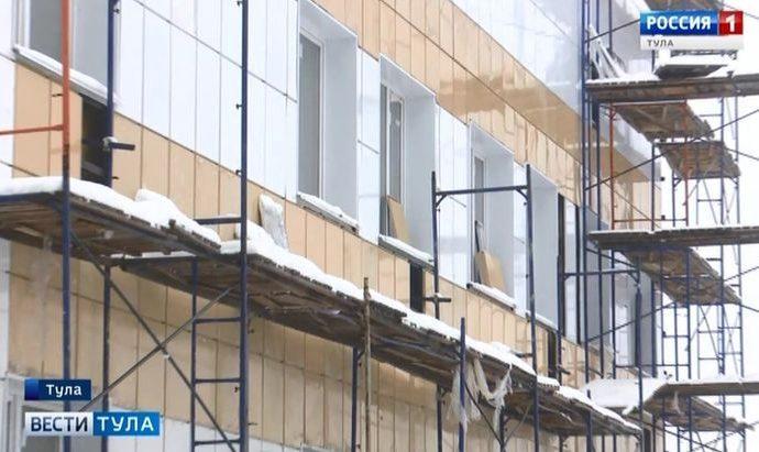 Когда будет достроен новый корпус Тульской детской облбольницы?