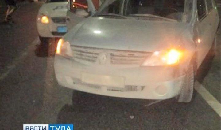 На проспекте Ленина в Туле женщина попала под колёса «Рено»