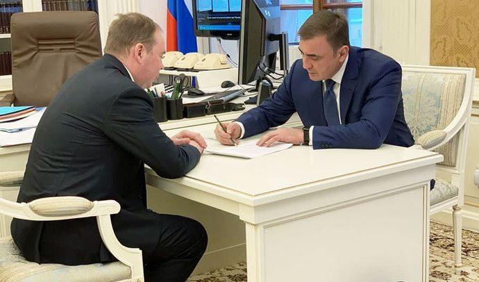 О чём Алексей Дюмин говорил с руководителем Администрации президента?