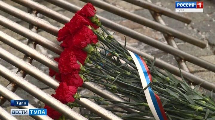 В Туле почтили память защитников Отечества