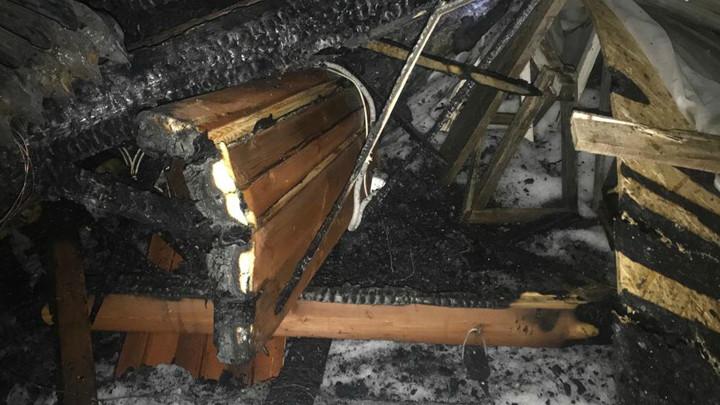 В Ясногорском районе в огне погиб 47-летний мужчина