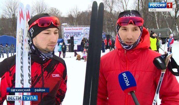Паралимпийцы не смогли пропустить яснополянскую «Лыжню России»