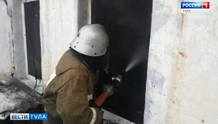 В Тёплом в огне погибла семья пенсионеров