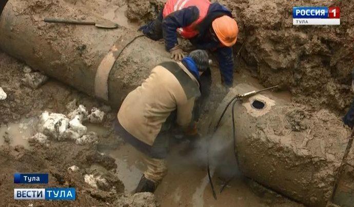 Когда на юге Тулы восстановят водоснабжение?