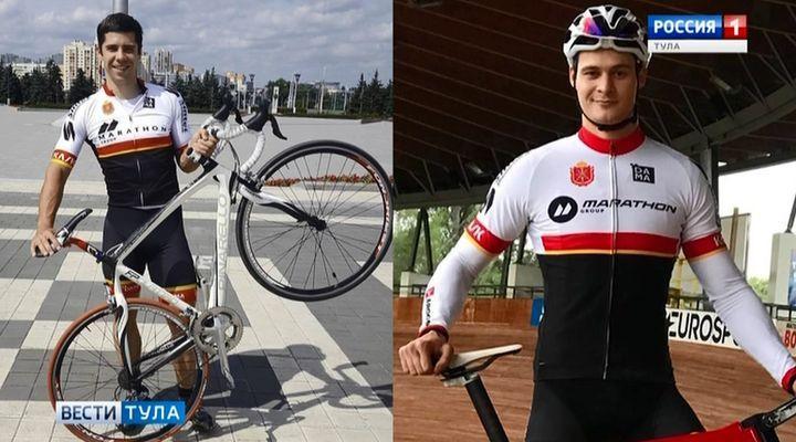 Тульские велосипедисты с медалей начали выступление в Москве