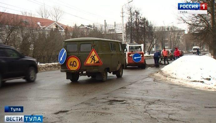 На дорогах Тулы увеличат количество аварийно-восстановительных бригад