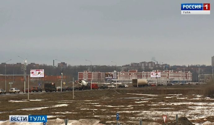 Объявлен  аукцион по выбору подрядчика на строительство второй очереди Восточного обвода