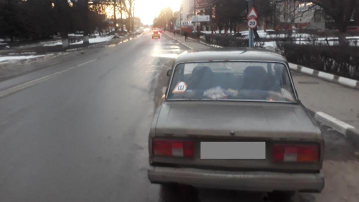В Тульской области ВАЗ сбил 17-летнюю девушку