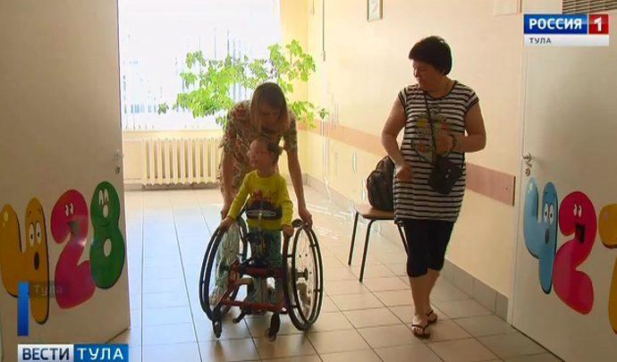 Специалисты американского университета посетили Тульский центр детской психоневрологии