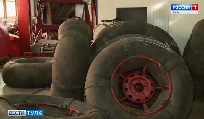 Тульские студенты пытаются реанимировать арктические вездеходы