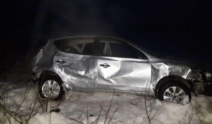 На дороге Железня - Алексин пострадал самонадеянный водитель