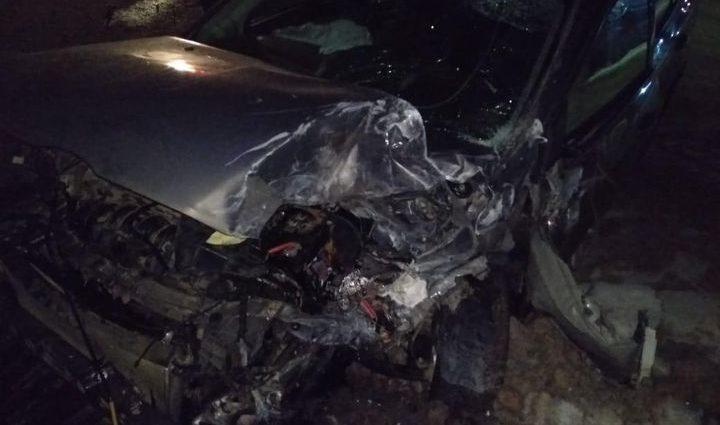 Водитель «Фокуса» совершил столкновение с грузовиком на встречной полосе