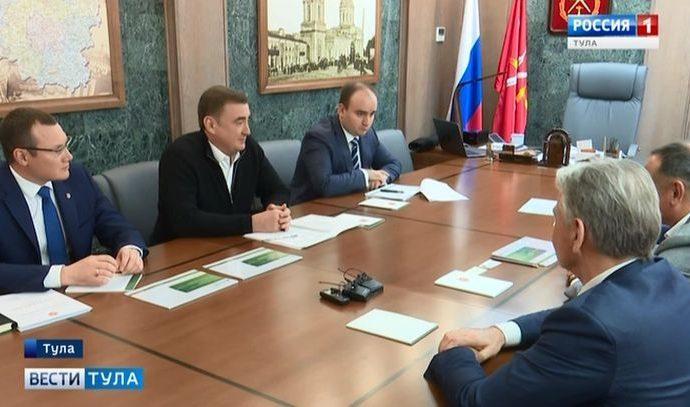 Тульская область продолжит сотрудничество со «Сбербанком»