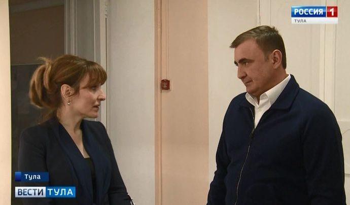 Алексей Дюмин пообещал педагогам помочь с покупкой современной техники