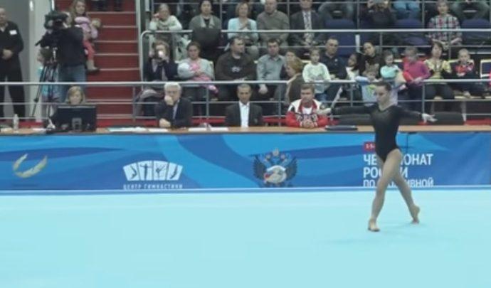 Дарья Елизарова стала серебряным призёром чемпионата России