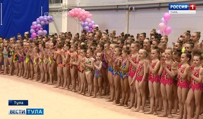 Тульские гимнастки стали лидерами почти во всех командных соревнованиях турнира на призы Афонского