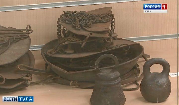 В музее «Тульские древности» гостям предложат поднять гири
