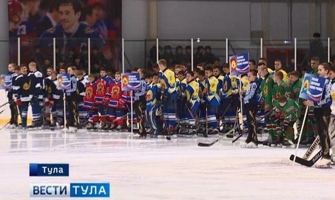 Кадеты и суворовцы со всей страны сразятся в Туле на хоккейном поле