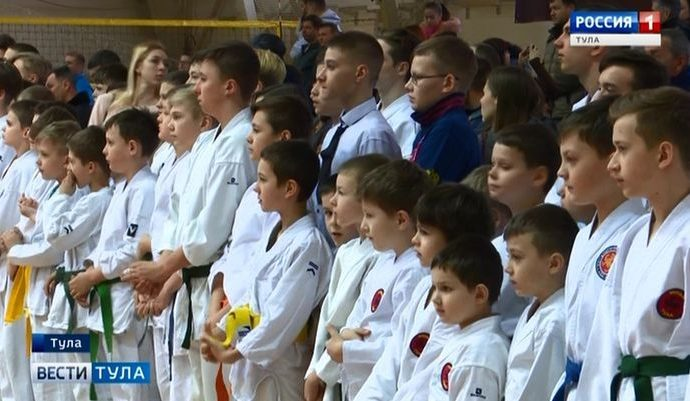 В Туле прошёл Всероссийский турнир по каратэ